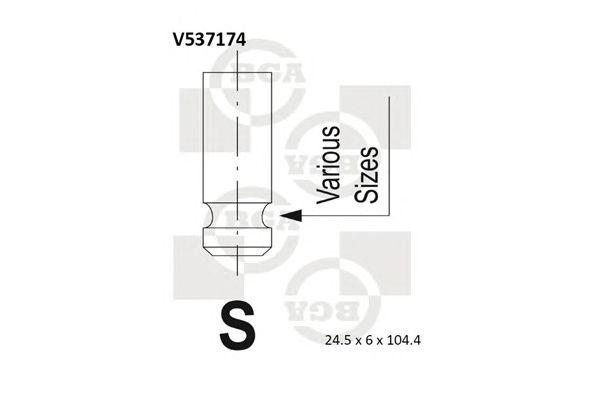 BGA V537174