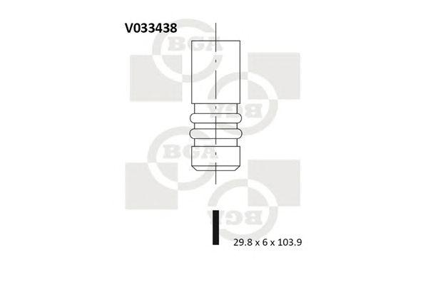 BGA V033438