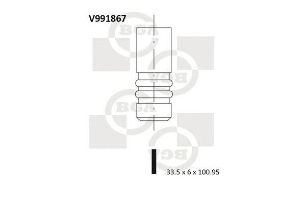 BGA V991867